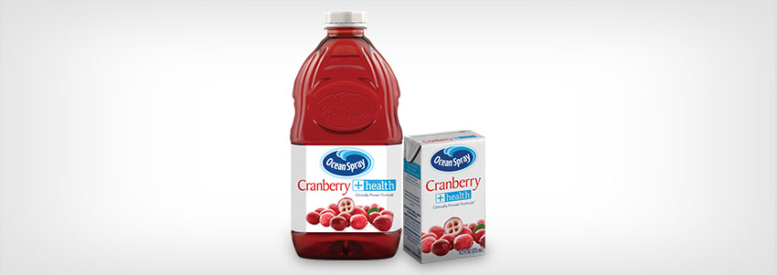 Cranberry +health™ Juice Drink