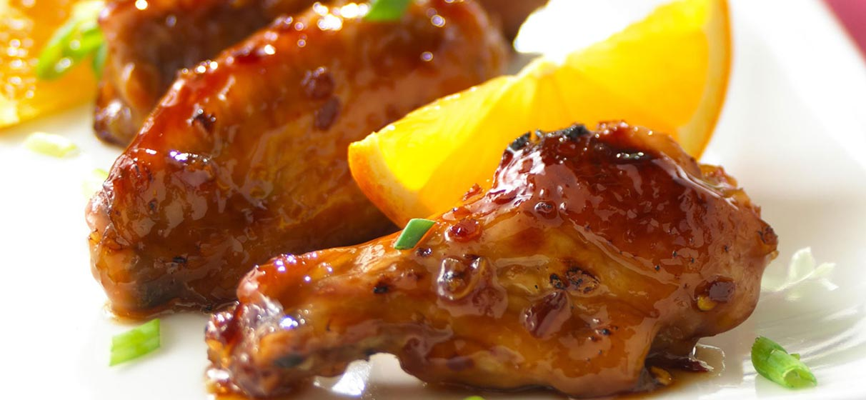 Lip-Smackin' Citrus Wings