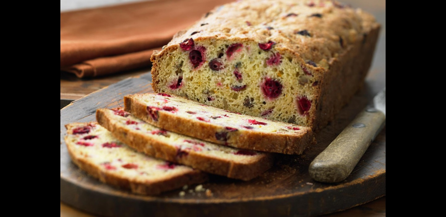 Classic Cranberry Nut Bread Recipe Ocean Spray