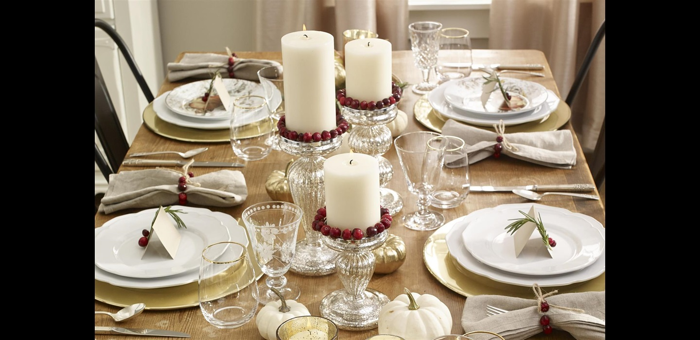 Cranberry Candle Wraps