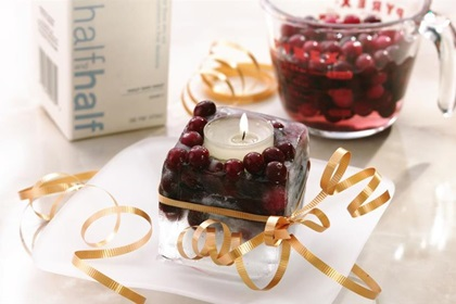 Cranberry Ice Candle