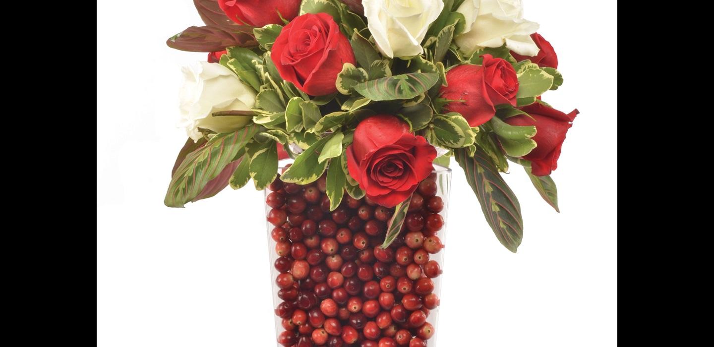 Fresh Cranberry Flower Arrangement Recipe Ocean Spray