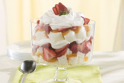 Citrus Berry Trifle