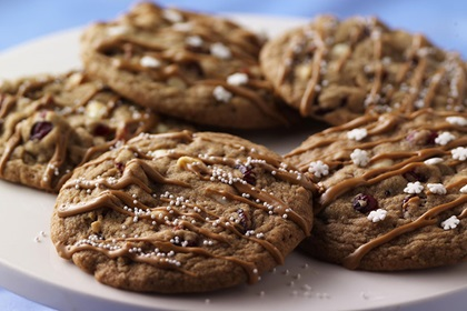 Espresso and White Chocolate Craisins® Dried Cranberry Cookies