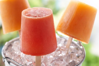 Fruit Juice Frozen Pops