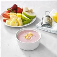 Lemony Cranberry Fruit Dip