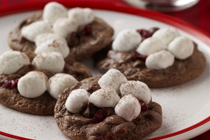 Santa's Hot Cocoa Cookies