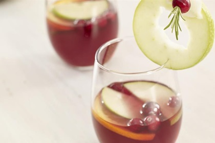 Cranberry Apple Garnish