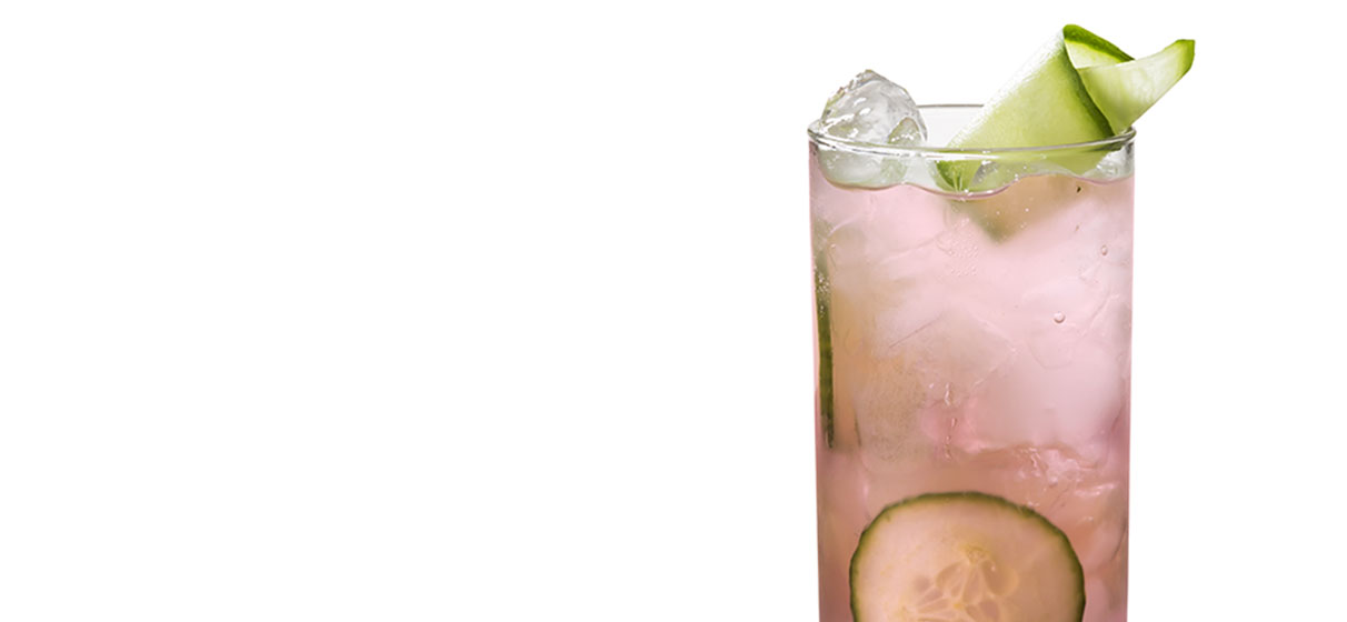 Cucumber Pink Cranberry Collins