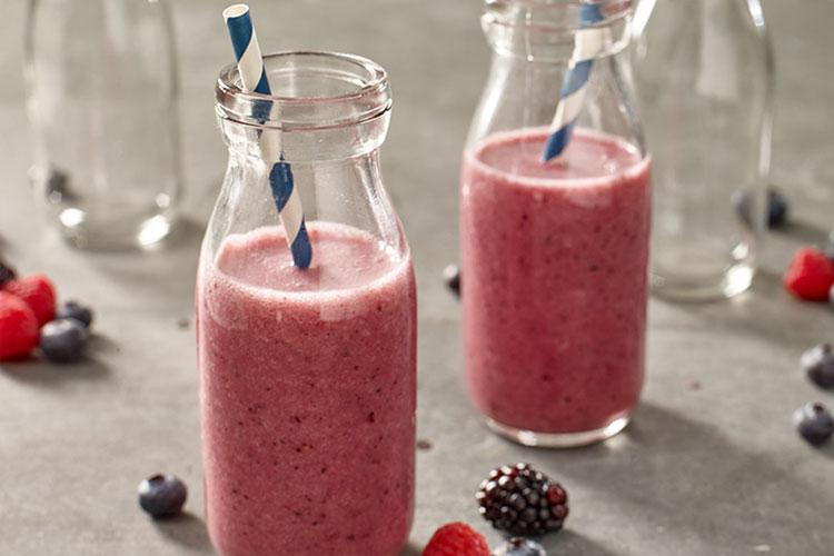 Diet Mixed Berry Smoothie Diet Mixed Berry Smoothie