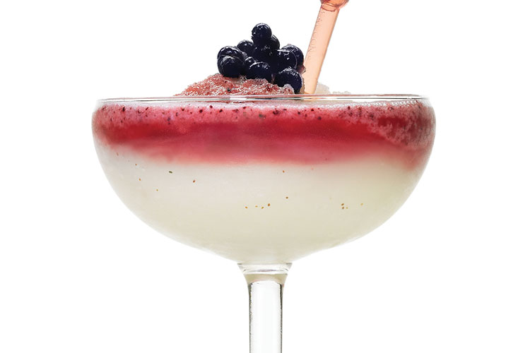 Cranberry Blackberry Colada