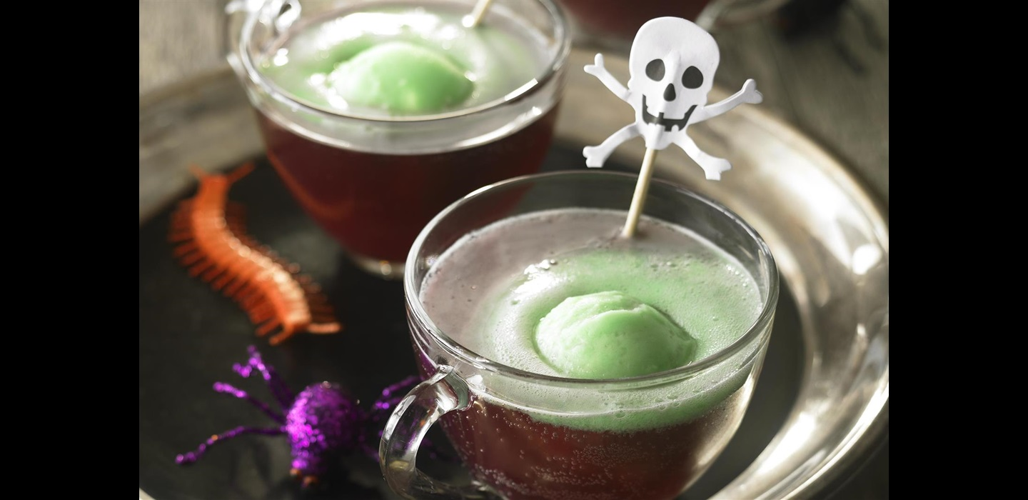 Ghoulishly Grape Punch