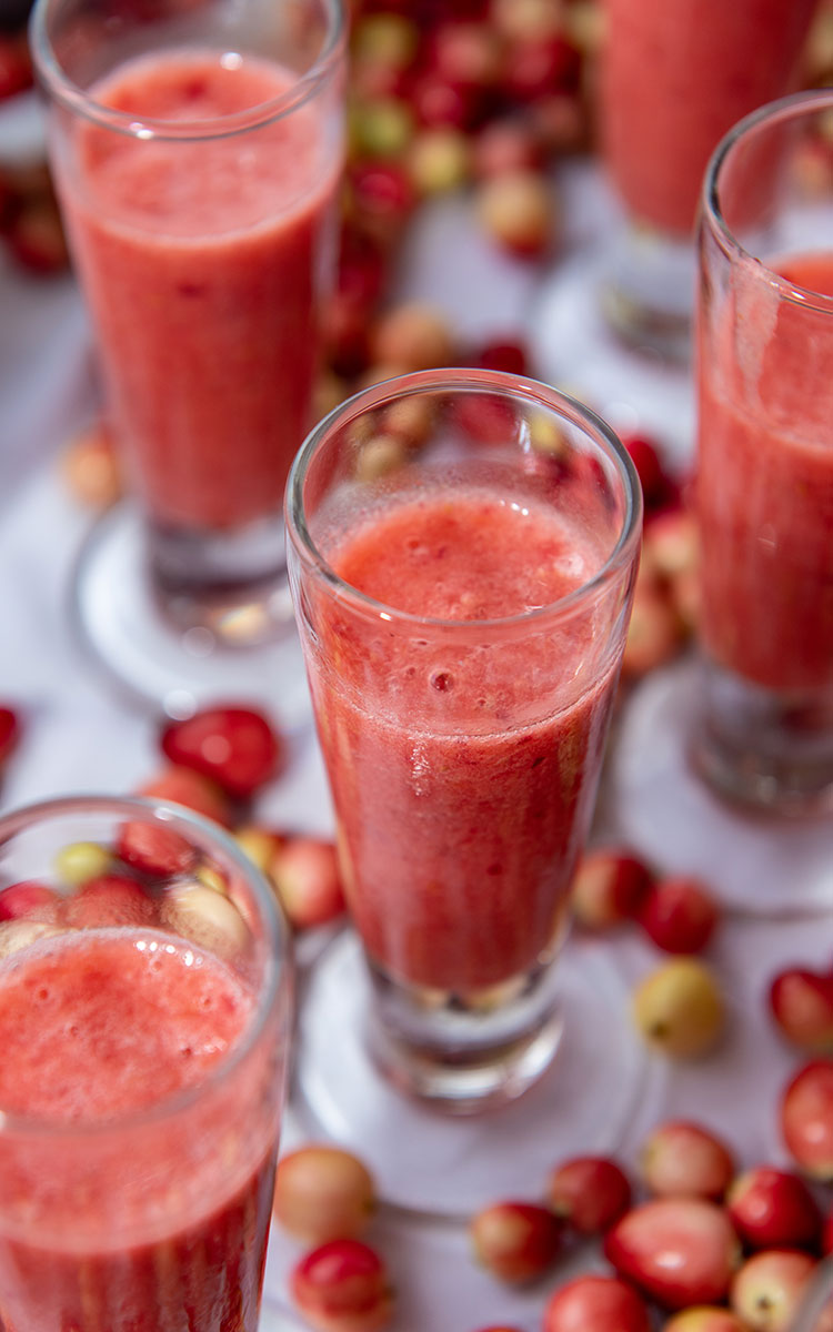 Pink Cranberry Smoothie