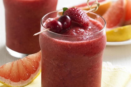 Super Ruby Cranberry Smoothie