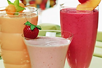 Tropical Ruby Smoothie