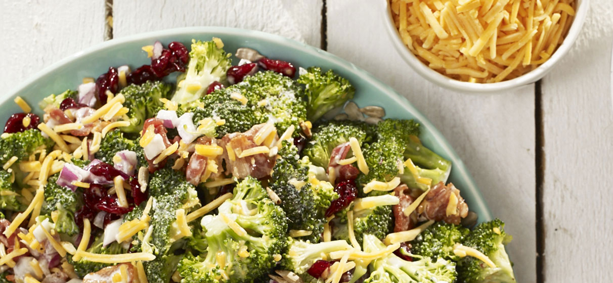 Broccolli and Cranberry Salad