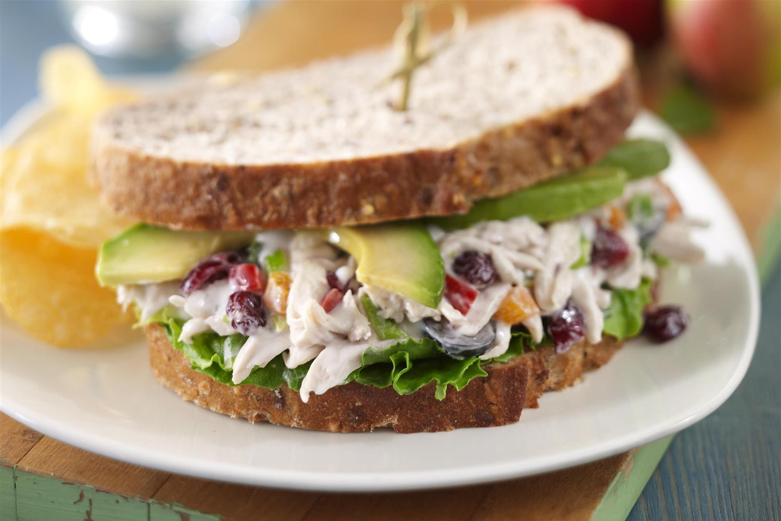 California Chicken Salad Sandwiches