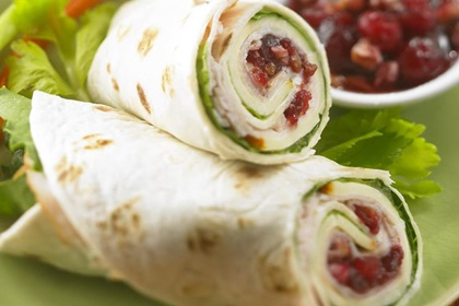 Turkey Cranberry Roll-ups