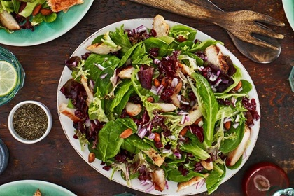 Chicken Cranberry Almond Salad