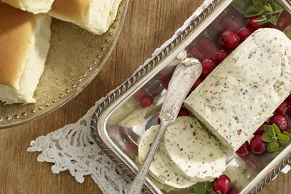 Cranberry Herb Butter
