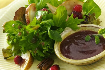 Cranberry Pear Salad Dressing