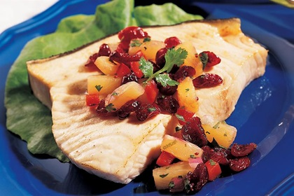Cranberry Pineapple Cilantro Salsa