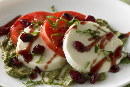 Holiday Caprese Salad