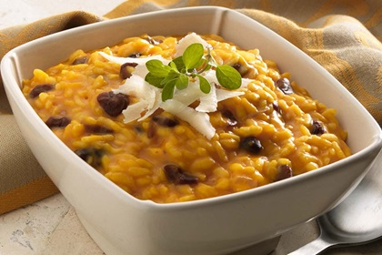 Pumpkin and Cranberry Risotto