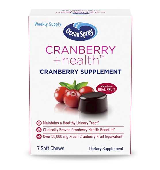cranberry health packshot