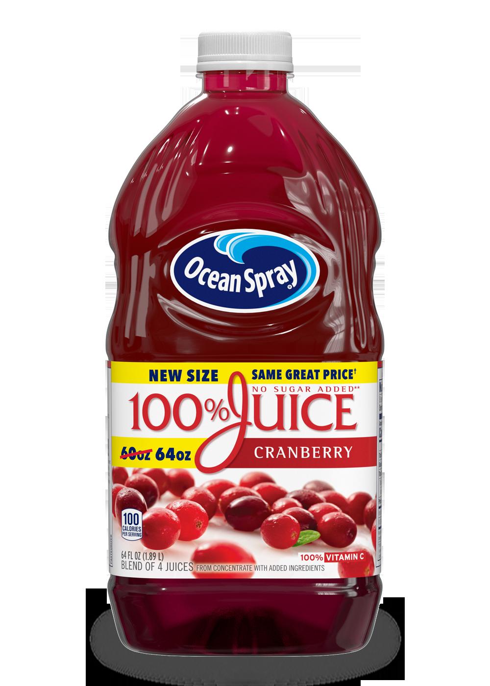 100 Juice Cranberry Ocean Spray