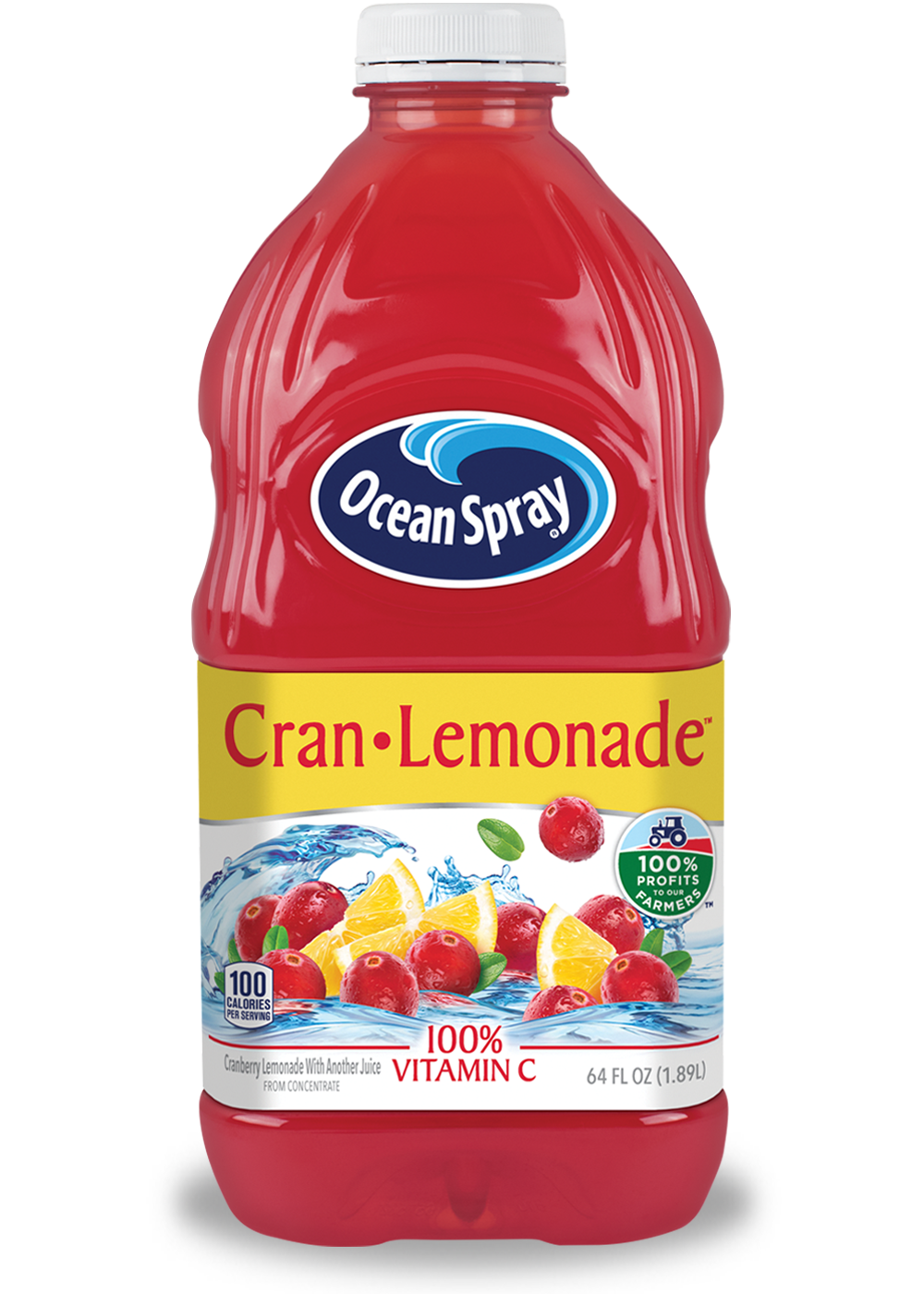 Cran Lemonade Cranberry Lemonade Juice Drink Ocean Spray 174