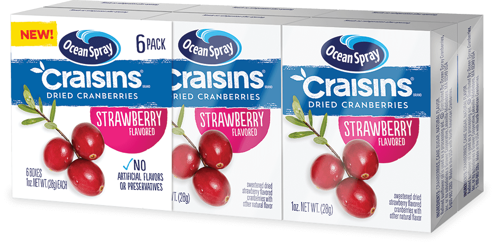 Strawberry Flavored Craisins® Dried Cranberries
