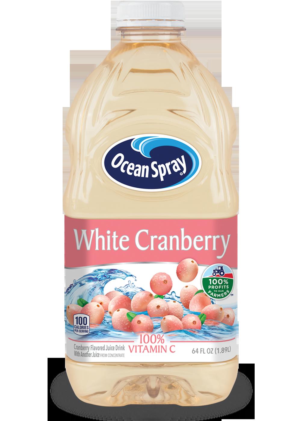 White Cranberry Juice Drink Ocean Spray