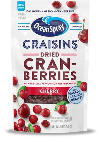 Craisins® Dried Cranberries Cherry Juice Infused