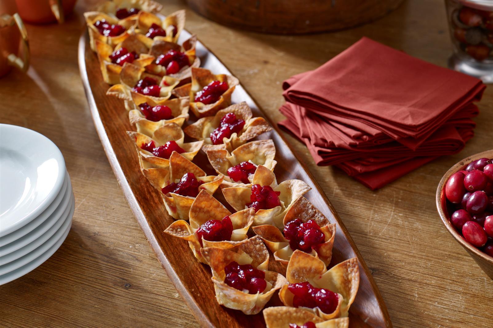 Cranberry Brie Appetizer Bites