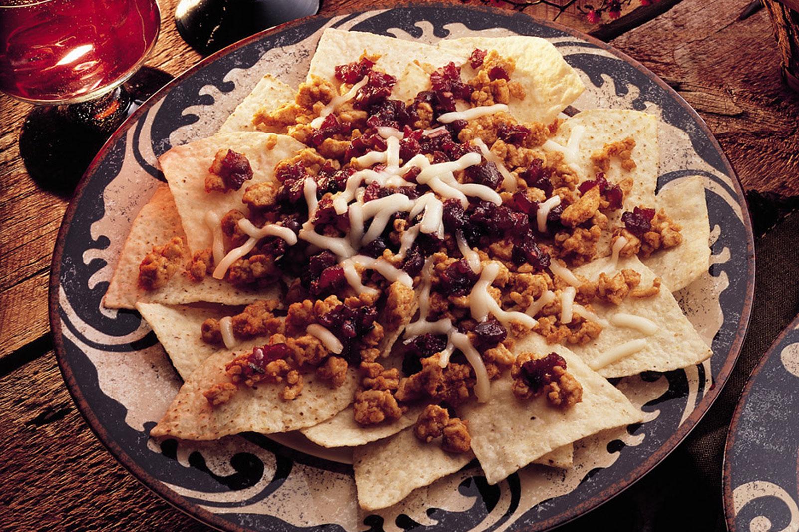 Southwestern Chicken Nachos