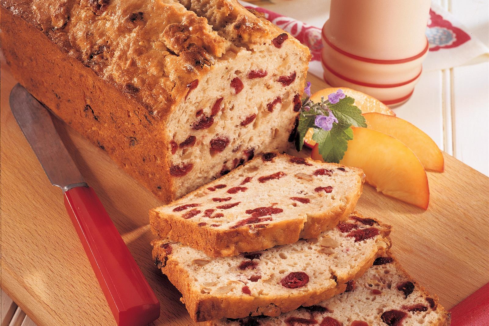 Cranberry Banana Bread