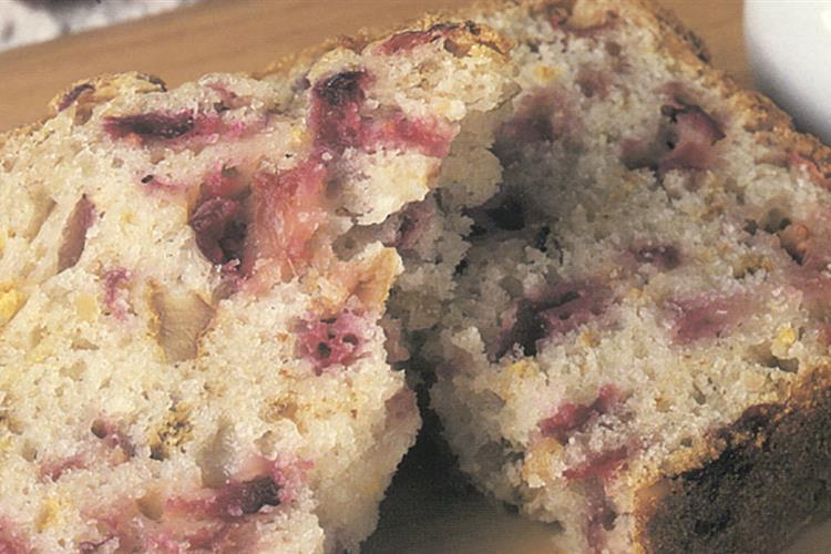Quick Cranberry Nut Bread