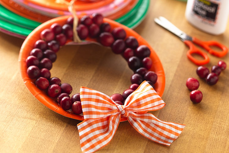 Mini Cranberry Wreaths