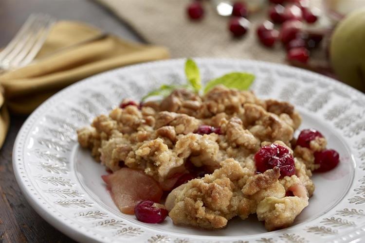 Apple, Cranberry Crisp