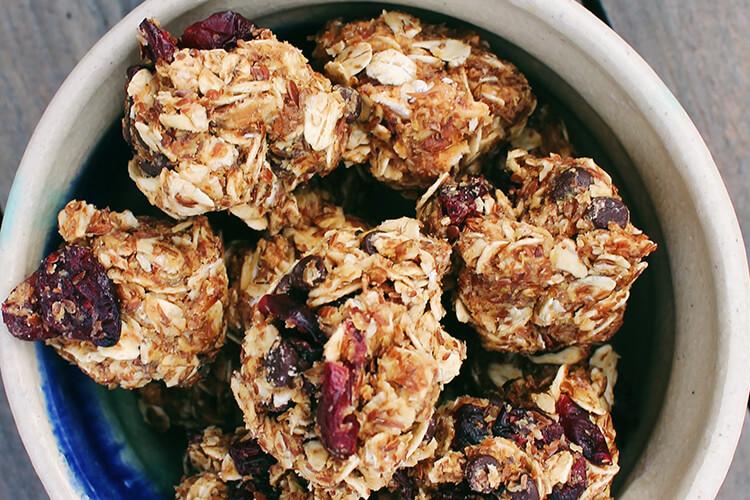 Craisins Dried Cranberries Oat Balls