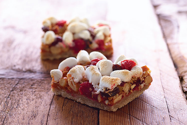 Cranberry Granola Nut Bars