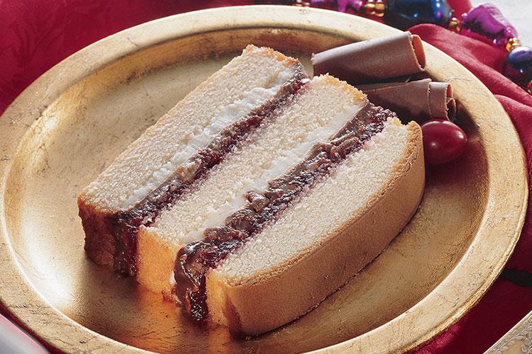 Decadent Cranberry Pound Cake