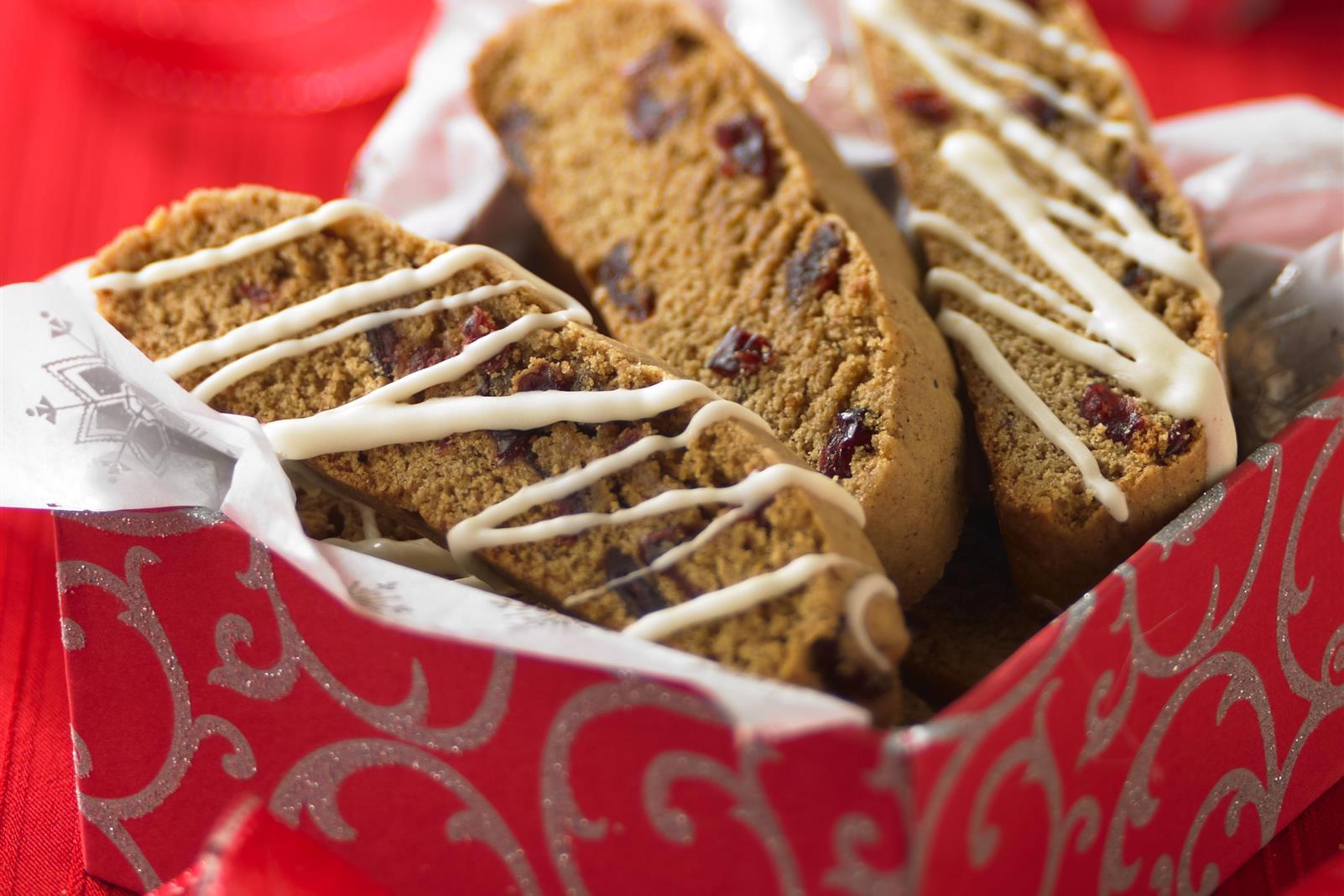 Ginger Jingle Biscotti