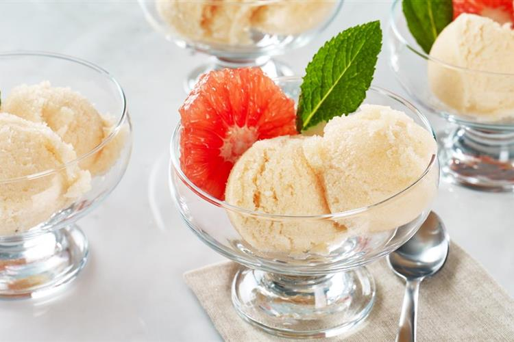 Grapefruit Sorbet
