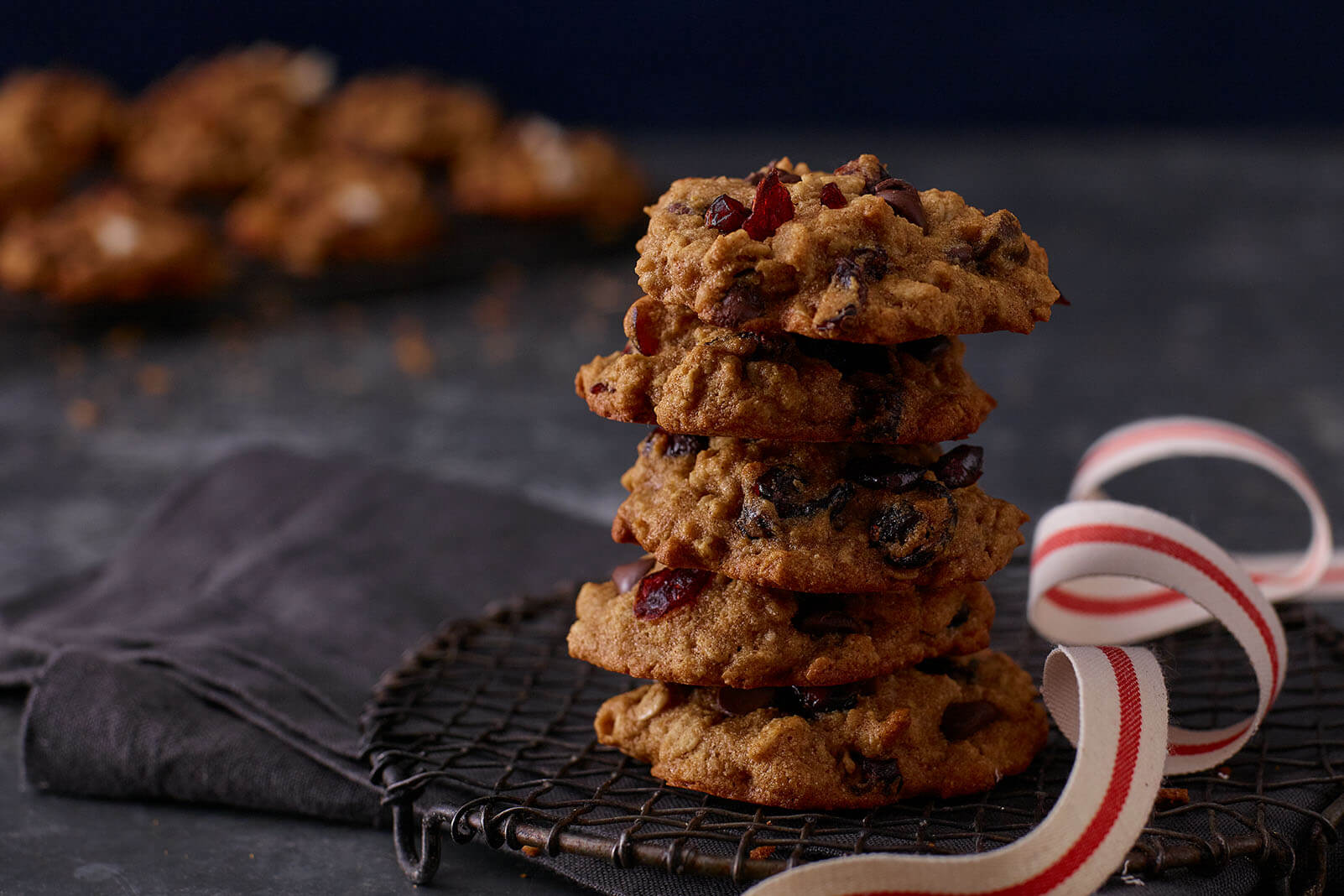 No-Guilt Oatmeal Craisins® Dried Cranberries Cookies