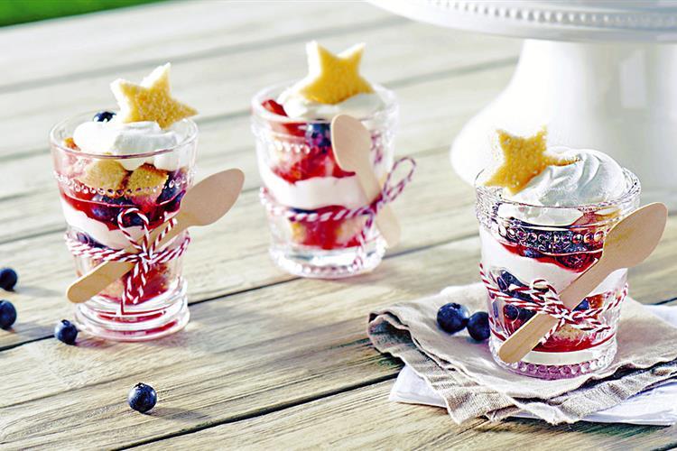 Patriotic Mini Trifles