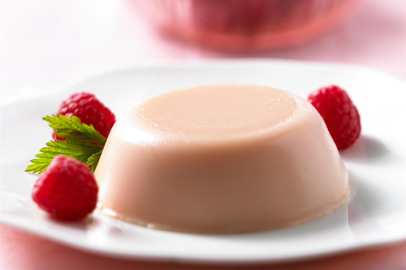 Ruby Red Grapefruit Panna Cotta