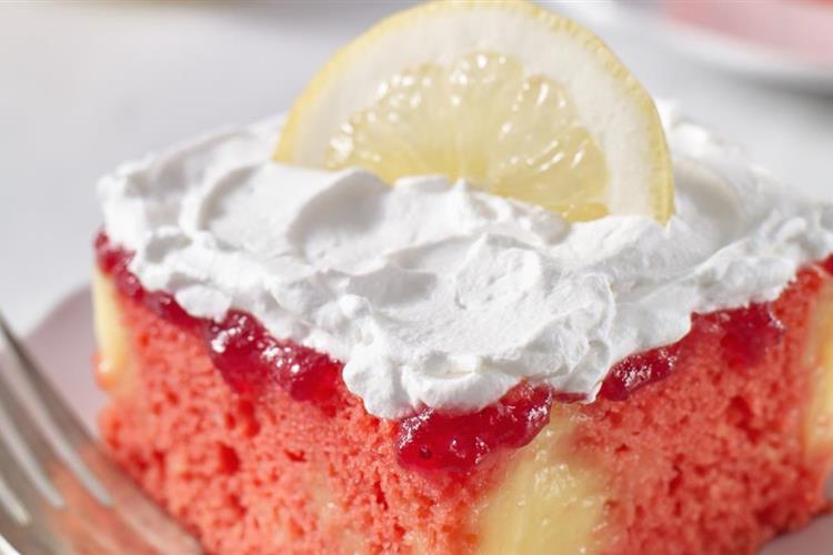 Sunny Day Cranberry-Lemon Cake