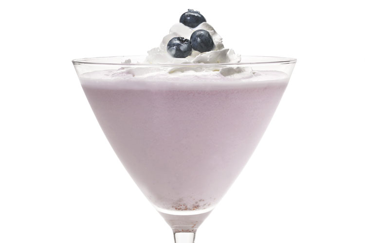 Blueberry Pie Mocktail